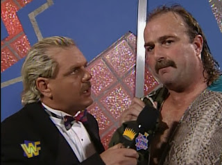 WWF / WWE - King of the Ring 96 - Jake 'The Snake' Roberts interviewed by Doc Hendrix