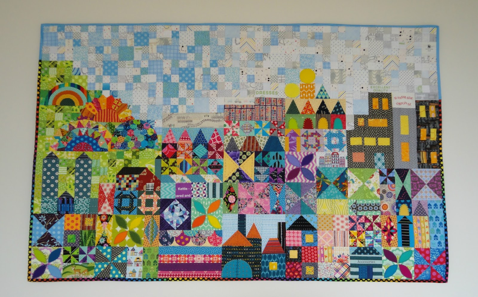 Wendy S Quilts And More My Small World It S Finished