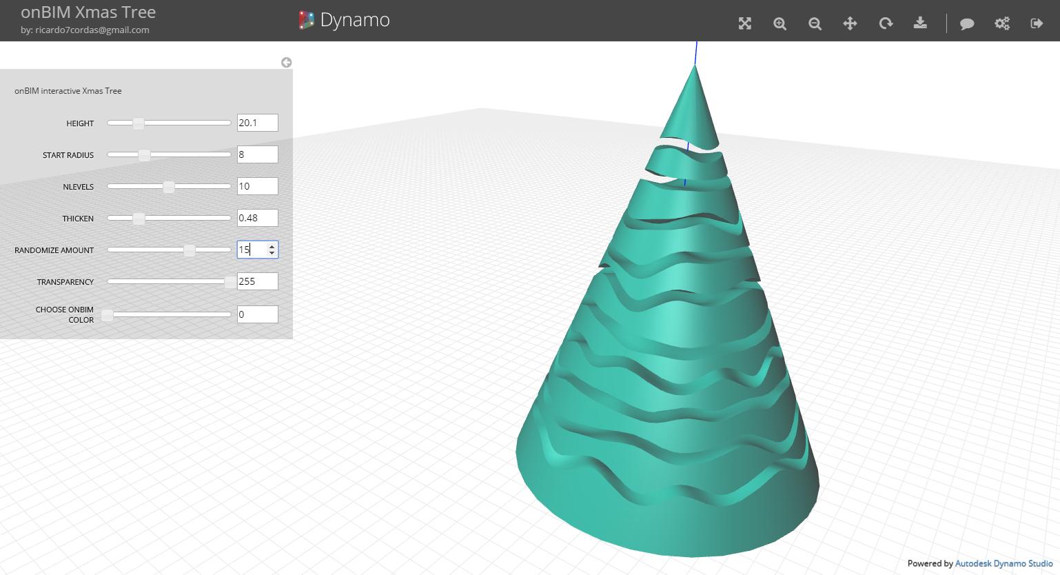 Revit Add-Ons: Dynamo Christmas Tree