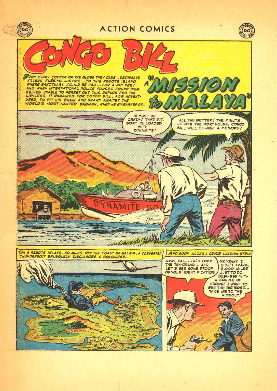 Read online Action Comics (1938) comic -  Issue #166 - 23