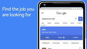 Job search by Google