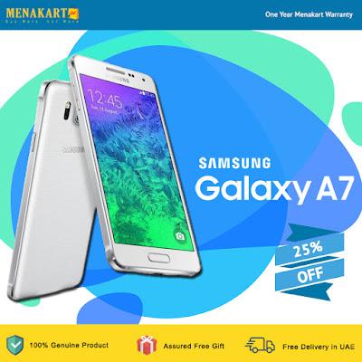 Samsung Galaxy A7 -SM-A700 (White)