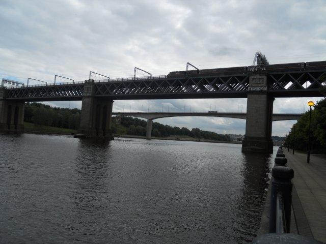 The first railway bridge