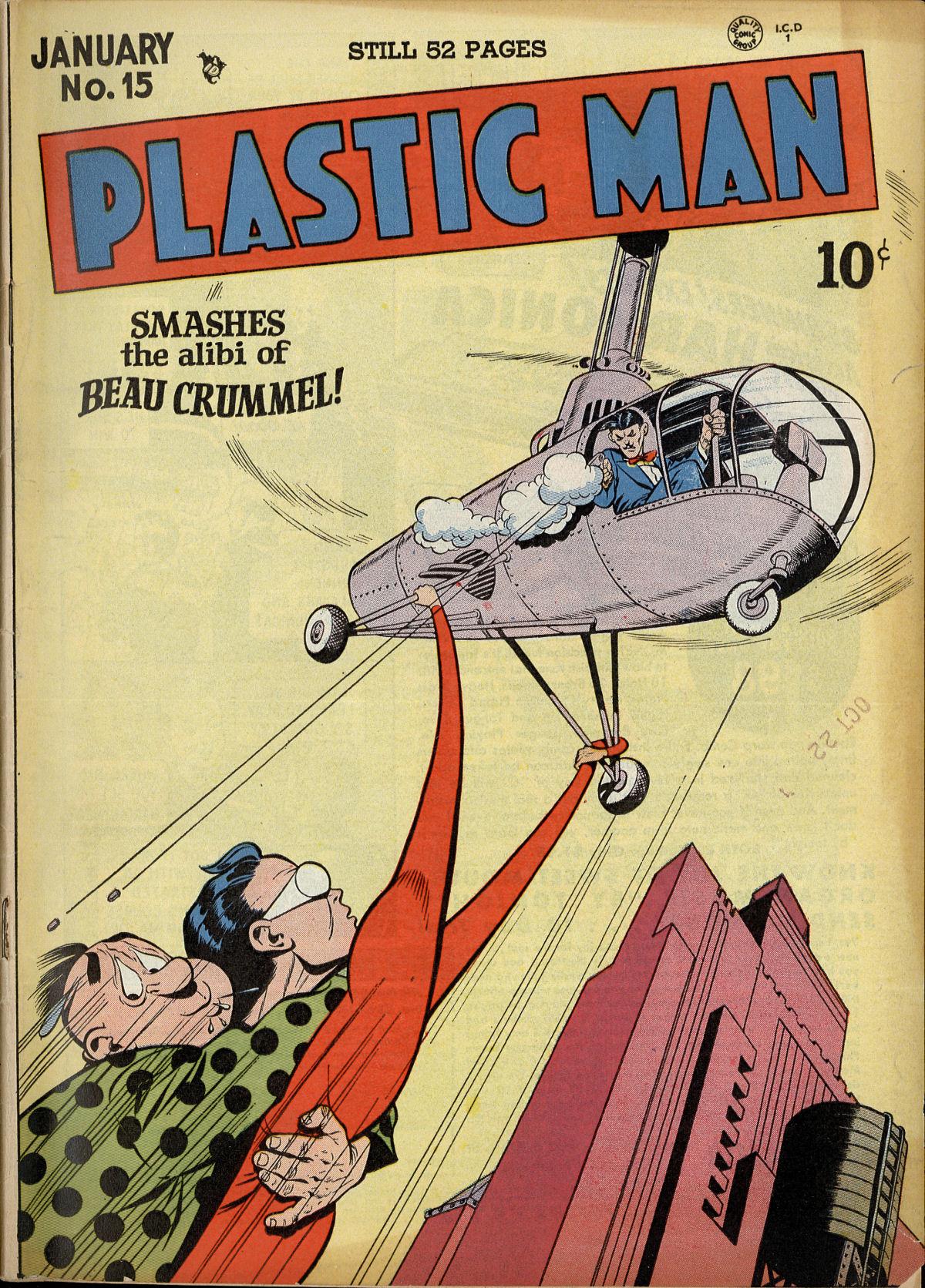 Plastic Man (1943) 15 Page 1