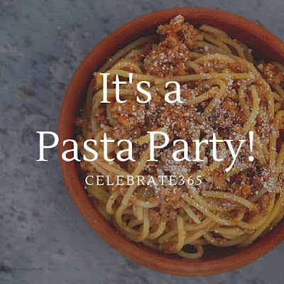 Pasta Recipes Blog Party #Celebrate365