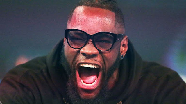 Deontay Wilder At Tyson Fury press conference