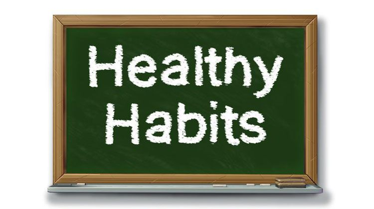 5 healthy habits that are not very difficult to achieve