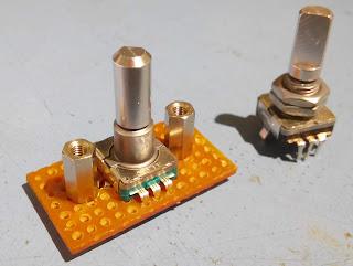 uBITX rotary encoders