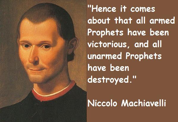 Quotes From Niccolo Machiavelli. QuotesGram
