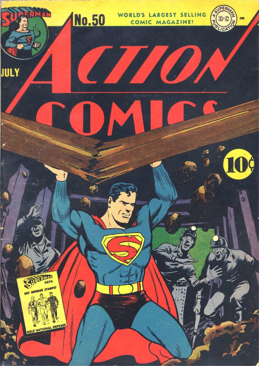 Action Comics (1938) 50 Page 1