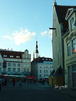 Tallinn razones para ir Plaza Ayuntamiento