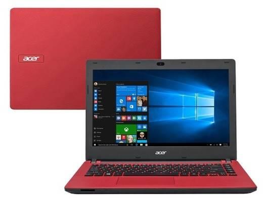 Notebook Acer com Windows 10, tela de 14 polegadas e preço econômico