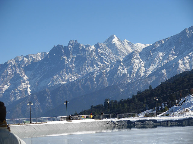 Auli wallpapers of snowfall and winters session