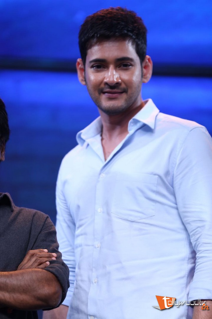 Mahesh Babu At Spyder Audio Launch-HQ-Photo-10