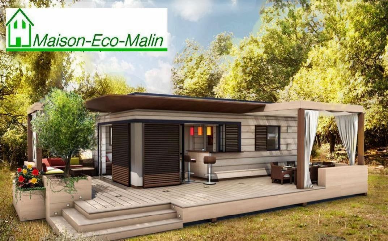 maison eco malin interesting porte duentre en alu noir with maison eco malin latest maison eco. Black Bedroom Furniture Sets. Home Design Ideas
