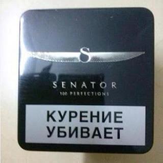 Thuốc lá Senator hàng Nga nội địa, chất lượng tuyệt hảo.