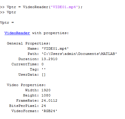 Read, process and save video in MATLAB | IMAGE PROCESSING