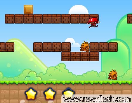 Neste jogo você precisa matar o Mario da maneira que conseguir. Bora matar o Mario, Felps mode.