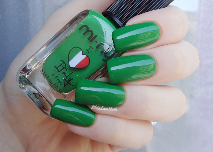 MI-NY Green Italy: swatches and review