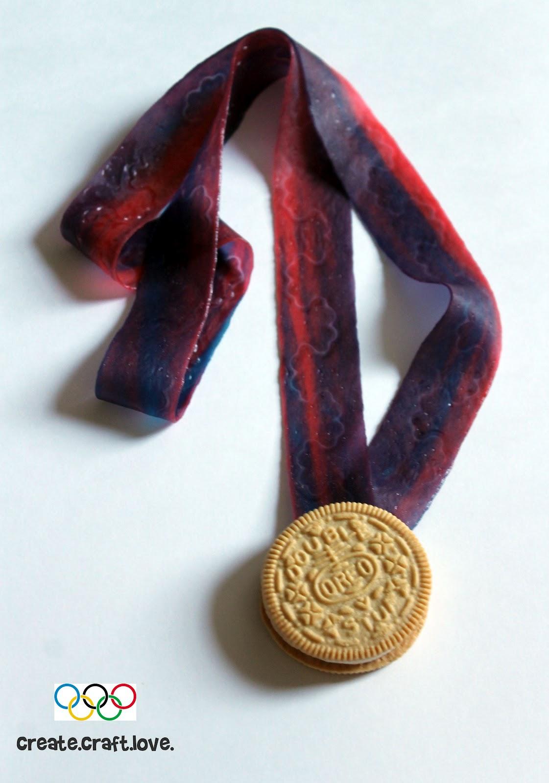 Oreo Olympic Medal