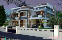 6 Bedroom Modern House Plan