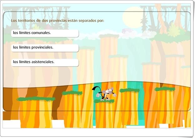 """""""Las provincias"""" (Juego de Ciencias Sociales de Primaria)"""