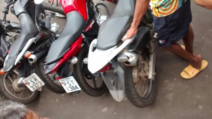 CAXIAS: SI e FT efetuam prisão de suspeitos de pertencerem a uma quadrilha especializada em roubo de motos