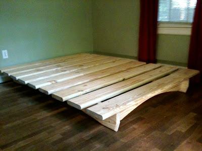 Make Your Own Platform Bed Storage