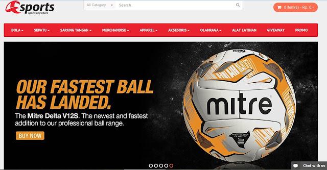 Toko Olahraga Online Murah, Lengkap, Aman dan Terpercaya - Toko Olahraga Online Murah, Lengkap, Aman dan Terpercaya? Ya Asports Indonesia lah solusinya!!