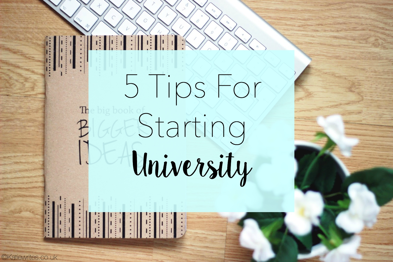 5 Tips for Starting University, Stationery, Tips, Student,