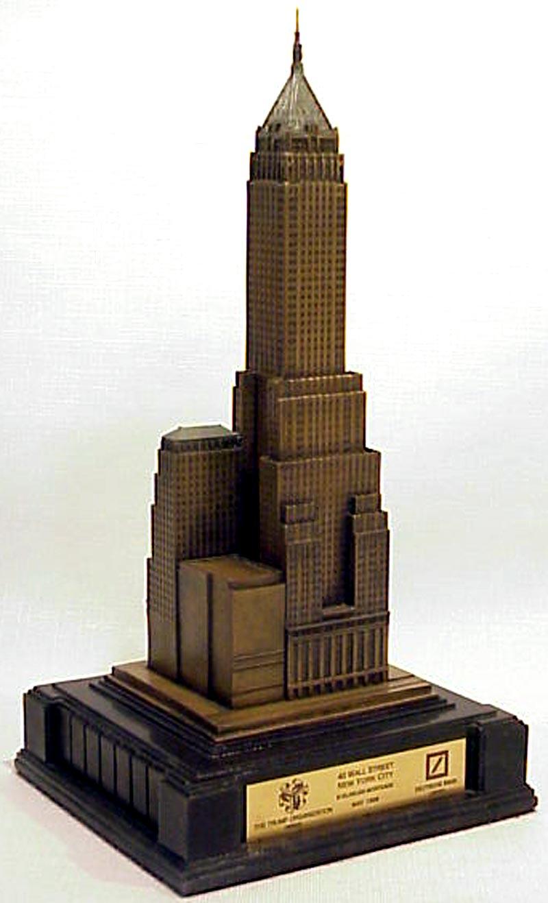 Wall Street Building New York