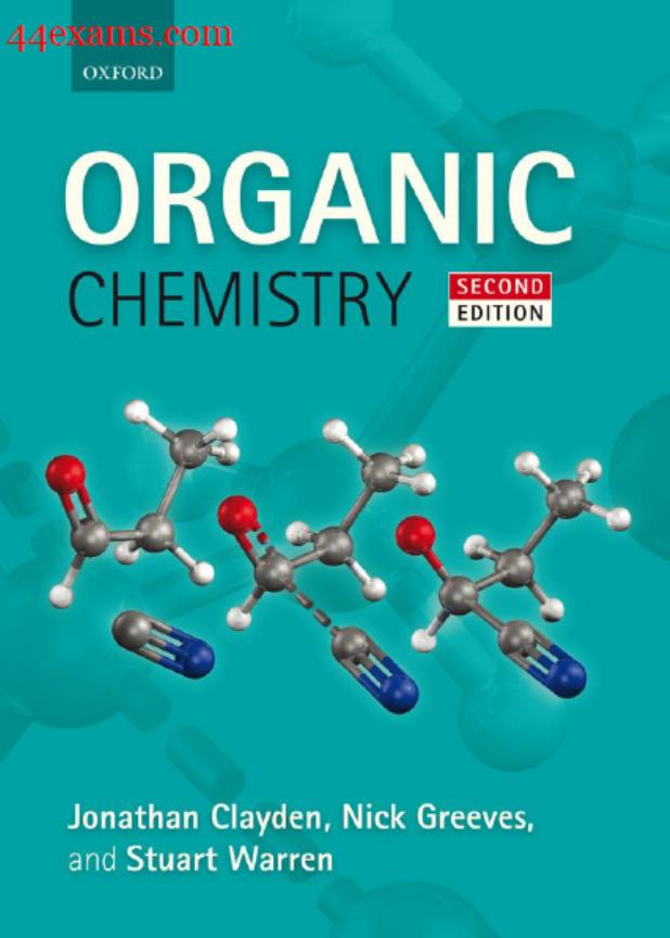 Organic Chemistry By Jonathan Clayden PDF Book
