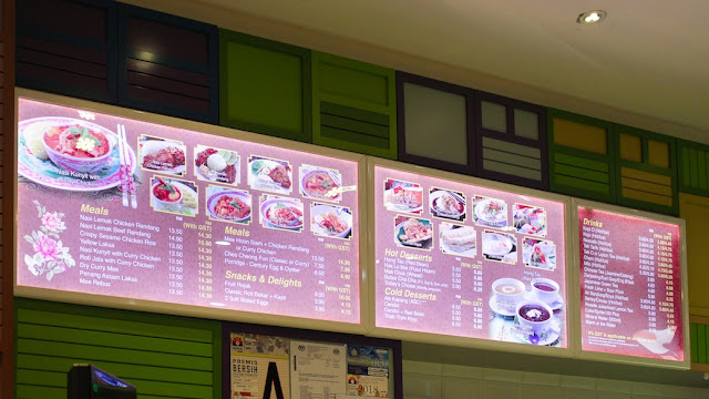 menu nyonya colors klia2
