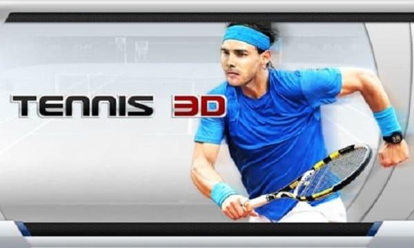 لعبة التنس 3D Tennis ثلاثية الابعاد على موبايلك