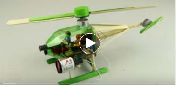 Amazing - Make A Helicopter- Watch Video - Make A Electric ...