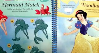 Disney Princess Wipe-Clean Activity Book: sample