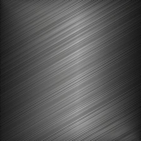 Fondo negro metálico - Vector