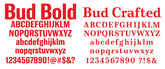 Bud Crafted Font