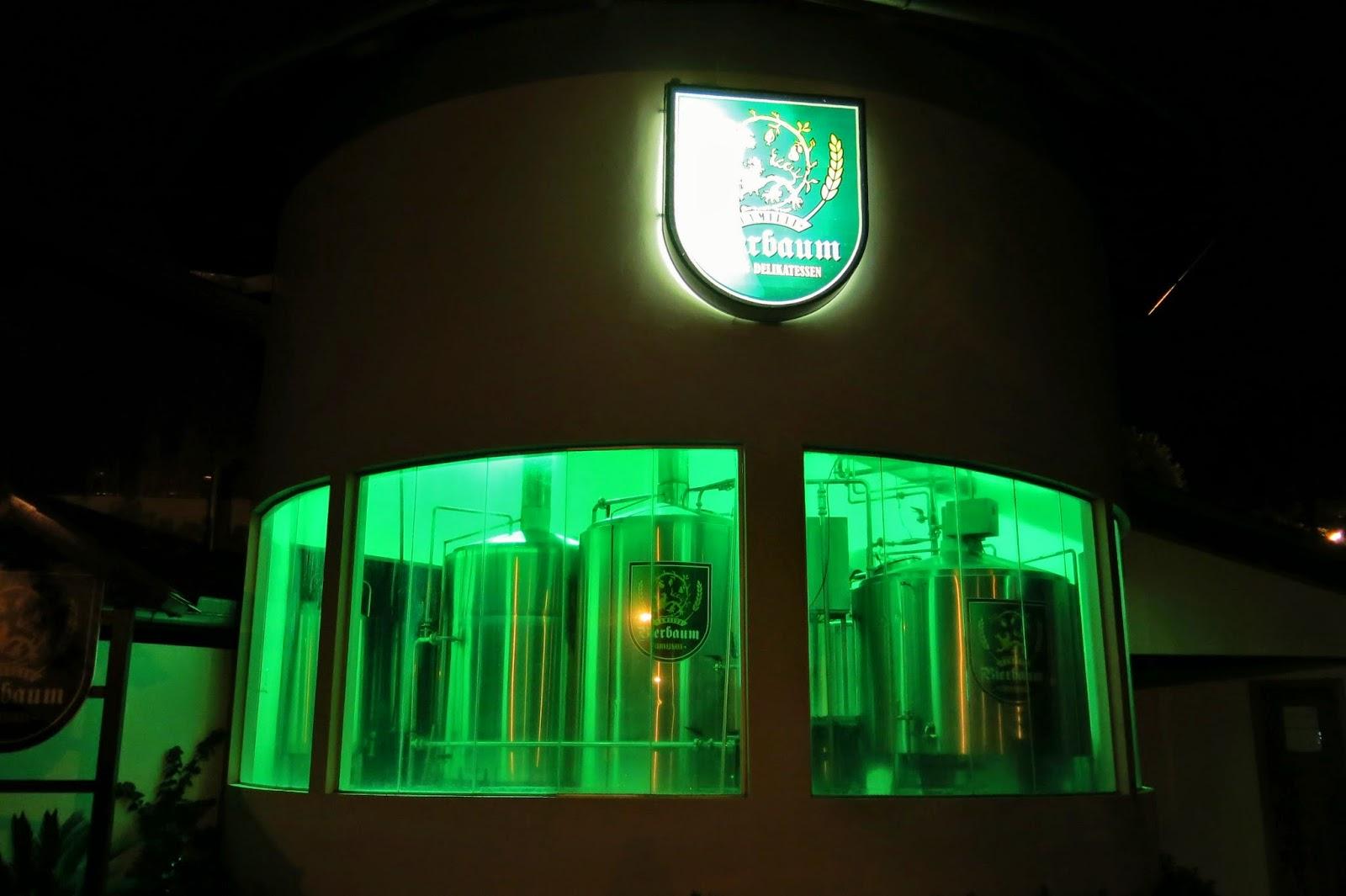 Cervejaria Bierbaum, em Treze Tílias