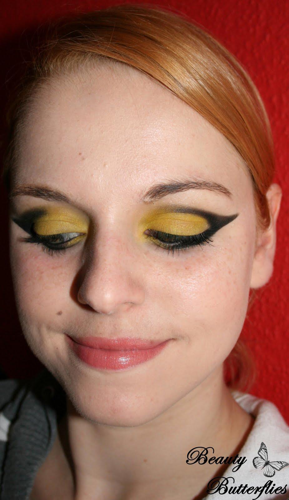 Fotd Biene Maja Auf Crack Laufsteg Look Beauty Butterflies