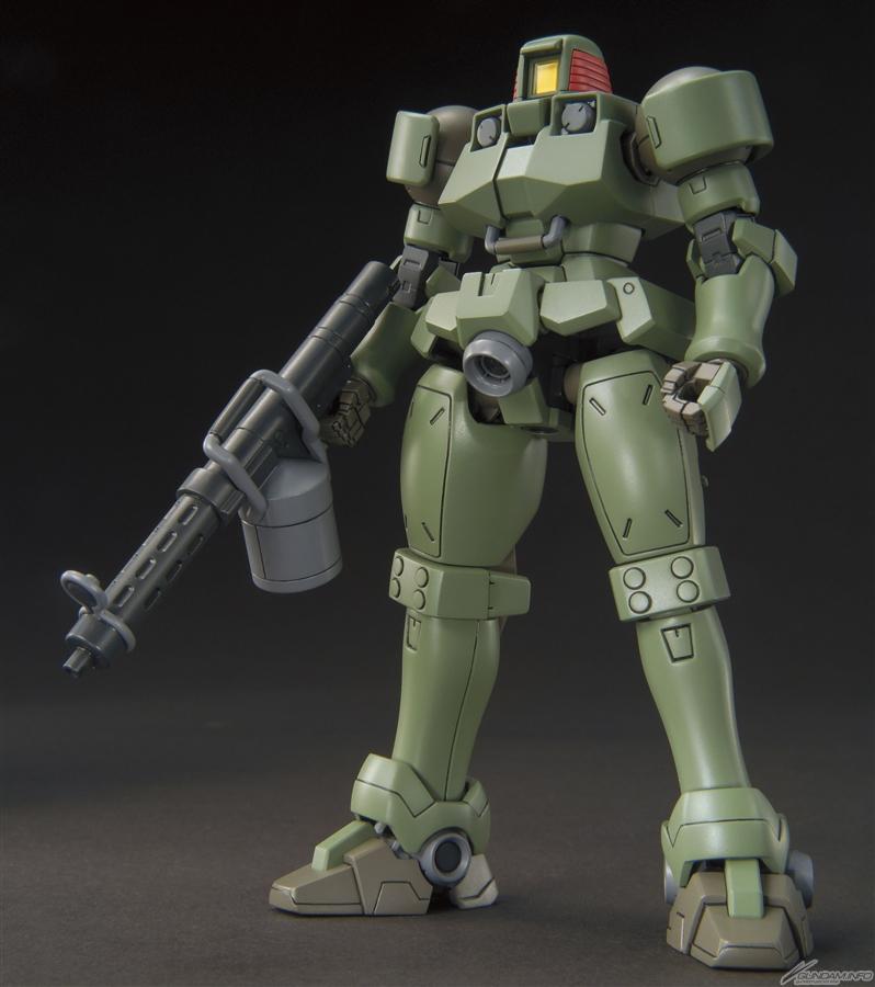 HGAC 1/144 OZ-06MS Leo stand 2