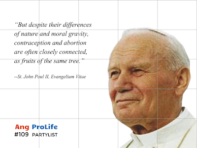 St. John Paul II on contraception and abortion
