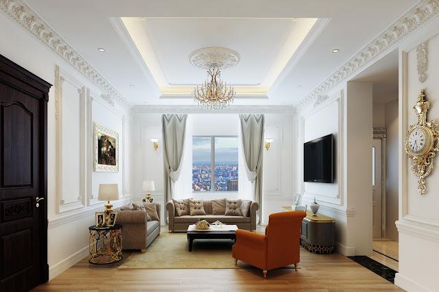 Không gian phòng khách Athena Fulland