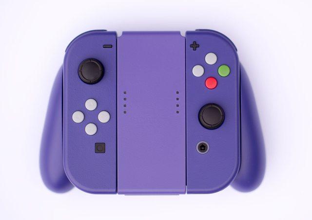 No te pierdas los mandos de Nintendo Switch pintados como los de Gamecube
