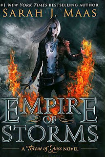 Keleana, tome 5, Empire of Storms de Sarah J. Maas