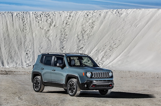 2015 Jeep Renegade blue