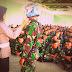 Polres MTB Sosialisasi Keselamatan Berlalu Lintas di Yonif 734