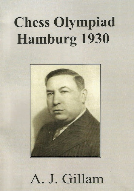 Portada del libro de Anthony J. Gillam sobre la III Olimpiada de Ajedrez de Hamburgo 1930
