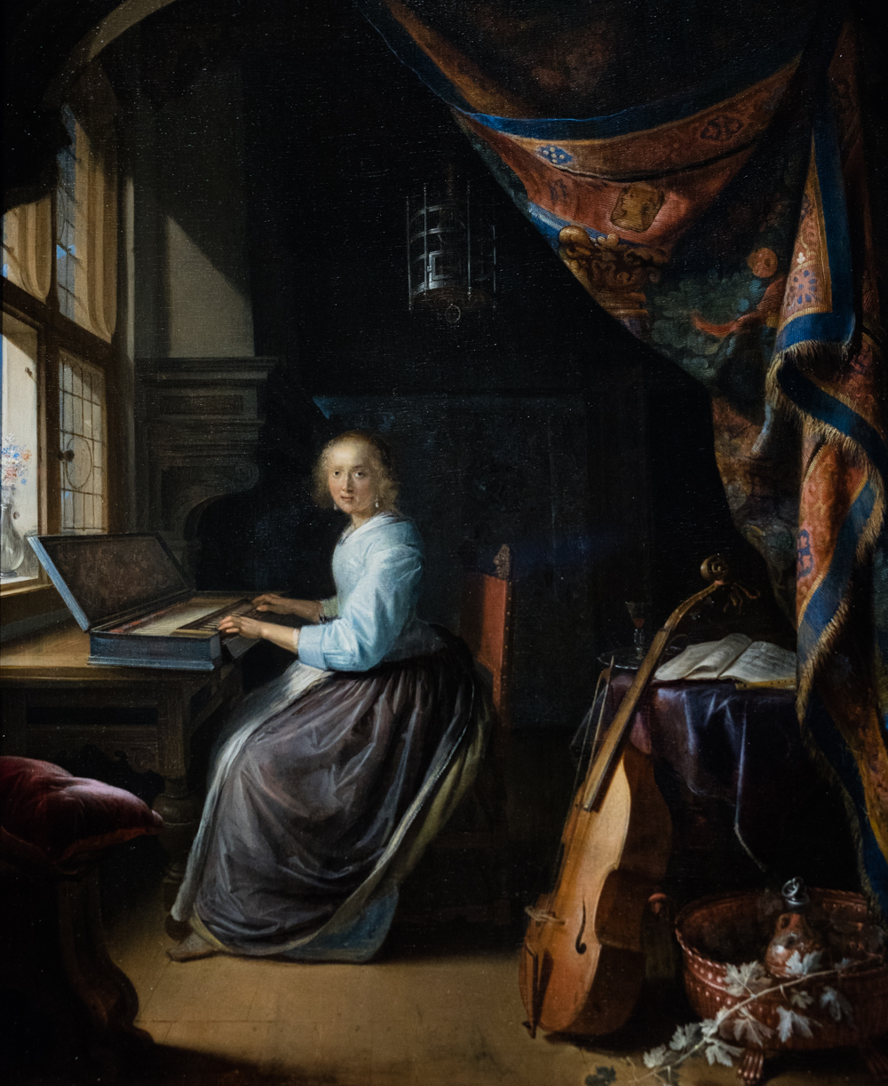 woman writing a letter gerard ter borch lady