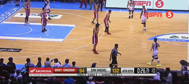 San Miguel def. Ginebra, 132-94 (REPLAY VIDEO) Finals Game 3 / August 1